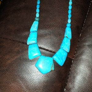 Jay King Mind finds hefty Turquoise necklace